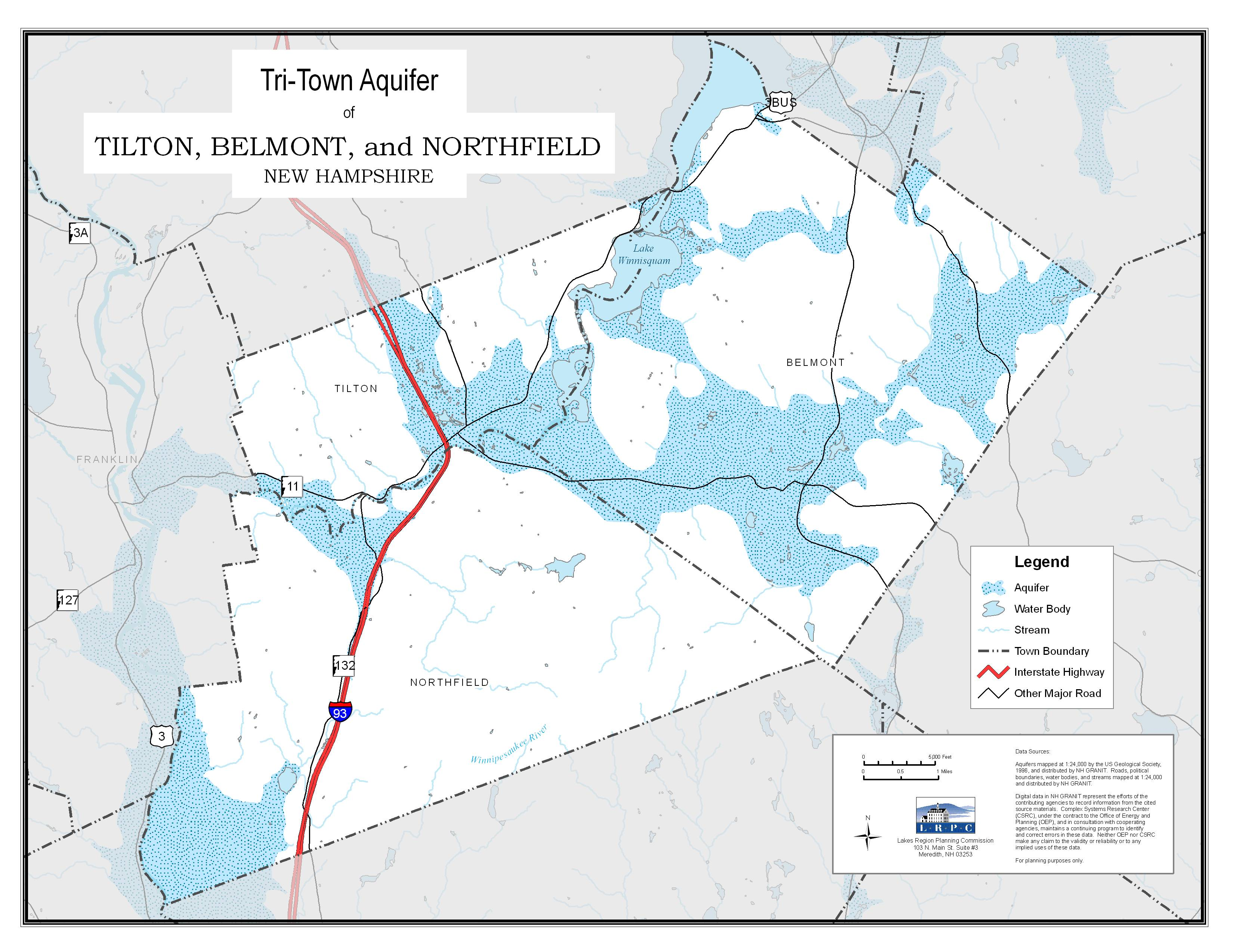 lakes region planning commission - the towns of belmont northfield and tilton have been working with thelakes region planning commission since  to carry out a thoroughassessment of